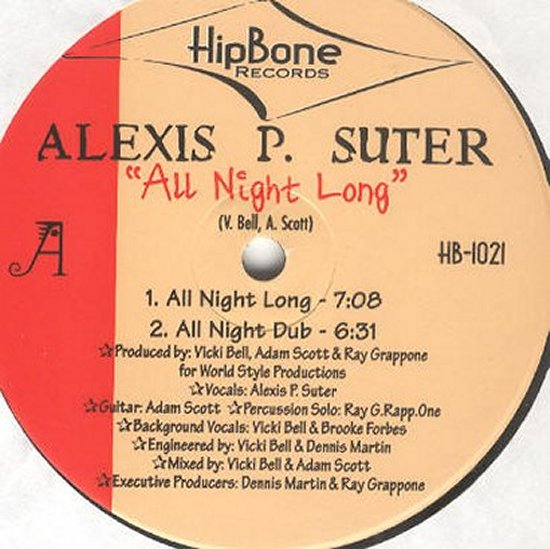 Alexis P Suter - All Night Long