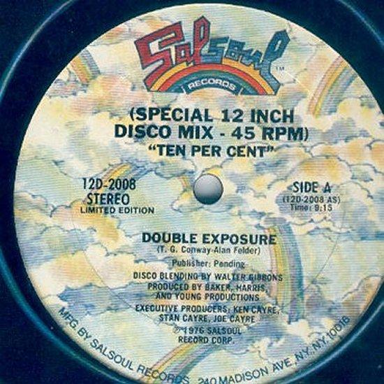 Double Exposure - Ten Percent - Disco Mix - Walter Gibbons / Ten Percent - Disco Mix - Ken Cayre