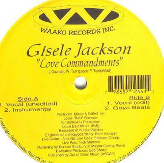 Gisele Jackson - Love Commandments