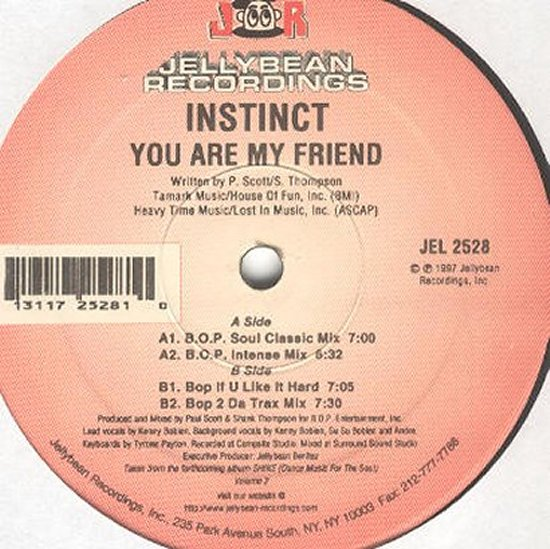 Instinct - You Are My Friend