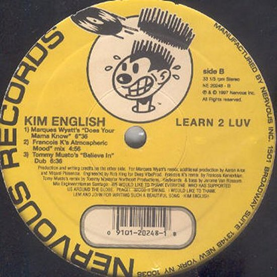 Kim English - Learn 2 Luv