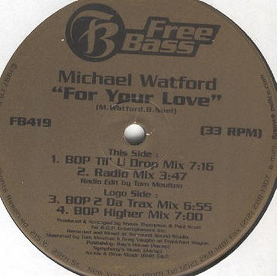Michael Watford - For Your Love