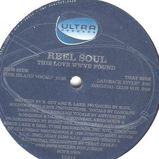 Reel Soul feat. Carolyn Harding - This Love We've Found