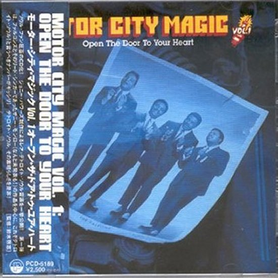 Various Artists - Motor City Magic - Open The Door To Your Heart