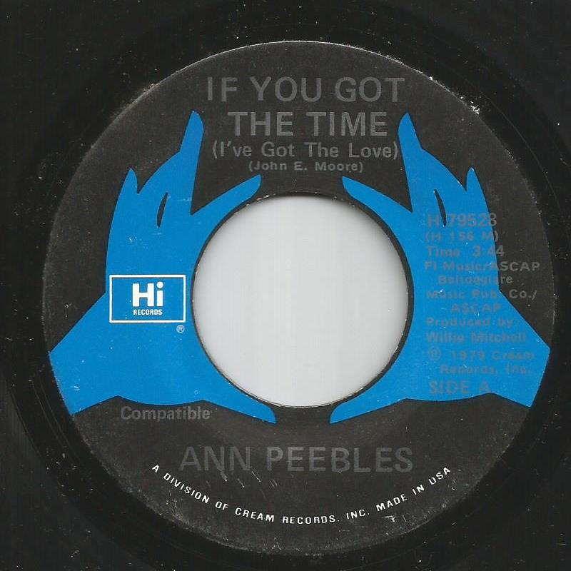 Ann Peebles - If You Got The Time / Let Your Love Light Shine