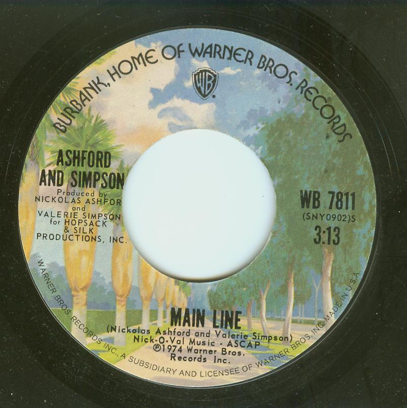 Ashford & Simpson - Main Line / Don't Fight It