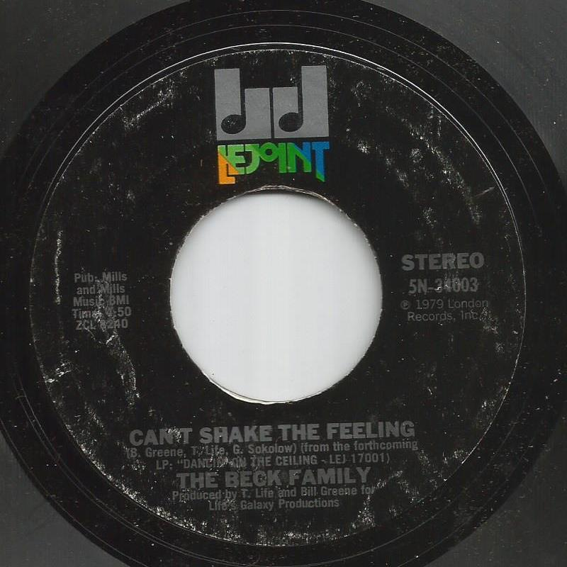 Beck Family - Can't Shake The Feeling / Nobody But You