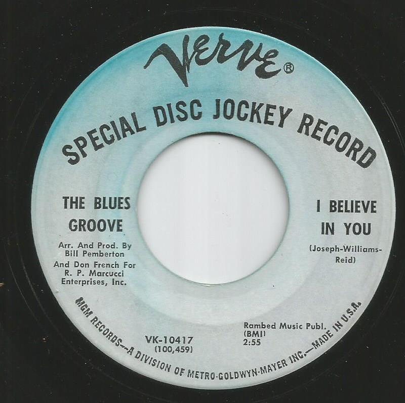 Blues Groove - I Believe In You / Makin' It