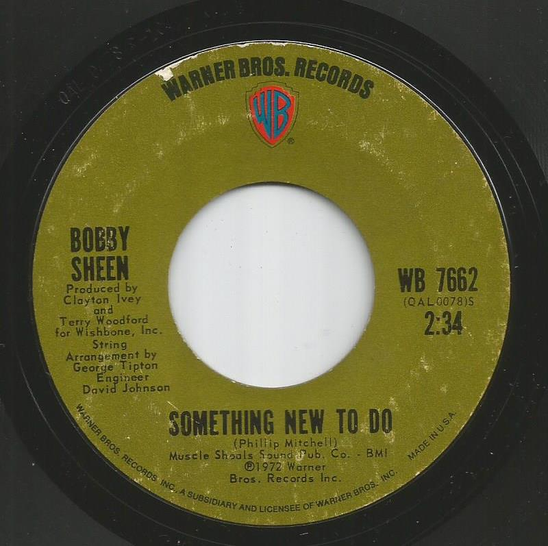 Bobby Sheen - Something New To Do / I May Not Be What You Want