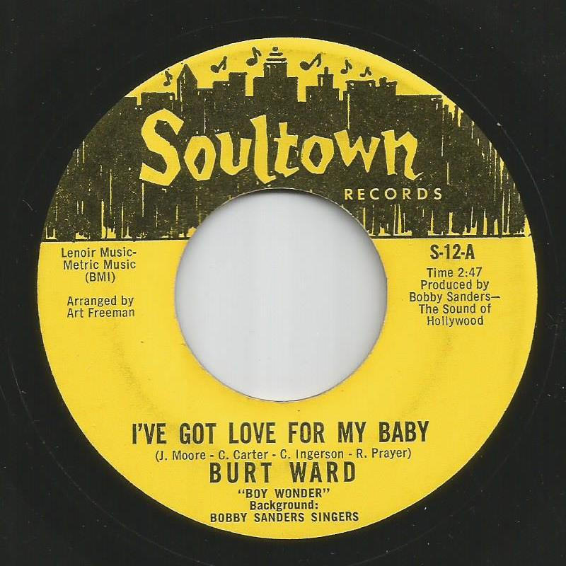 Burt Ward - I've Got Love For My Baby / Robin's Theme