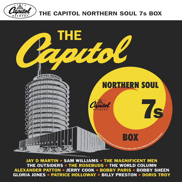 Various Artists - Capitol Northern Soul 7s Box