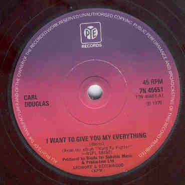 Carl Douglas - I Want To Give You My Everything / Witchfinder General