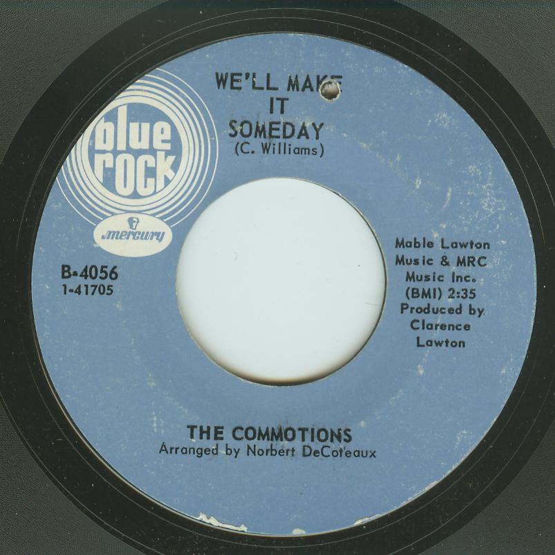Commotions - We'll Make It Someday / Handy Man