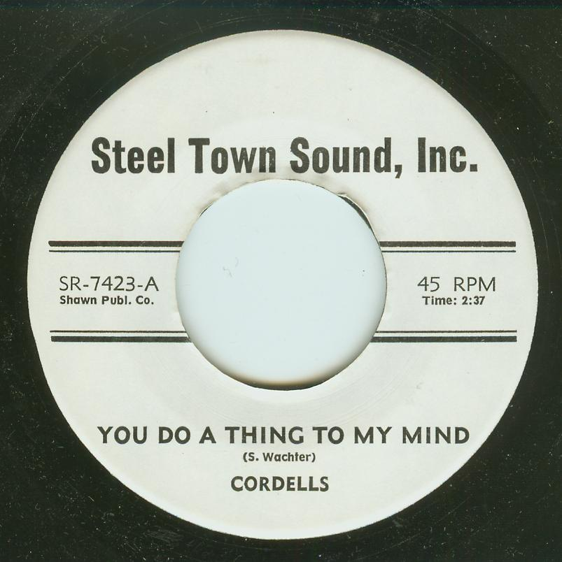 Cordells - You Do A Thing To My Head / Love Is Where It Is