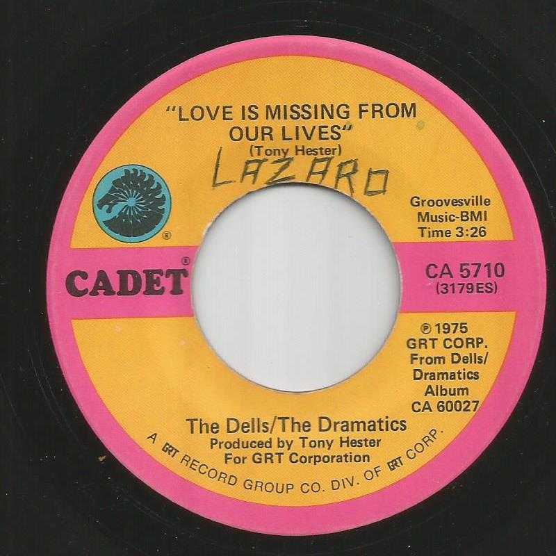 Dells - Dramatics - Love Is Missing From Our Lives / I'm In Love