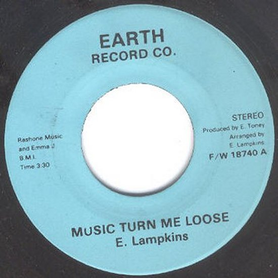 E Lampkins /  Invaders - Music Turn Me Loose / The Theme