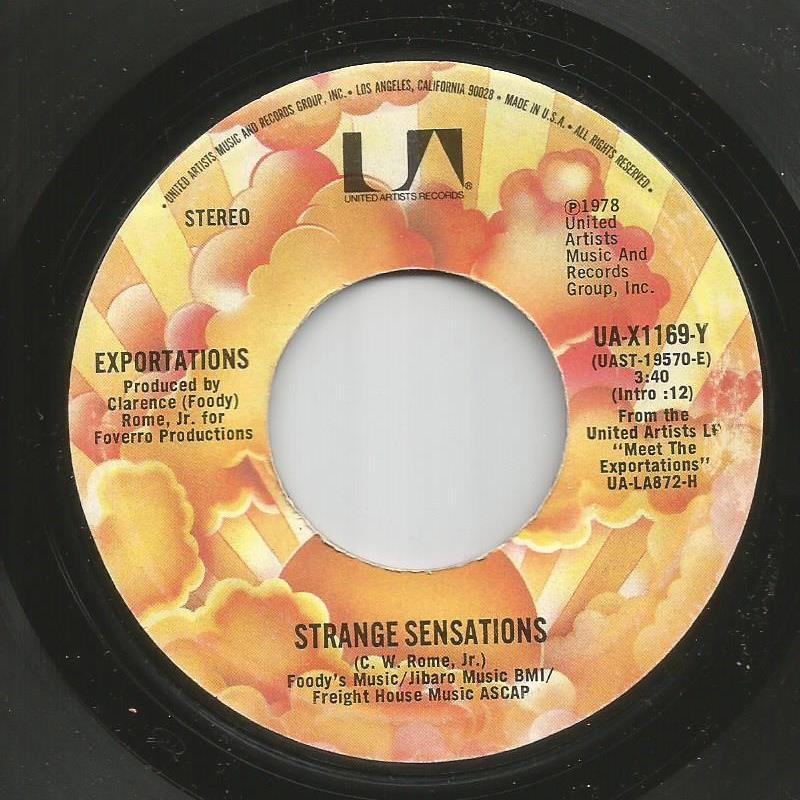Exportations - Strange Sensations / Instrumental