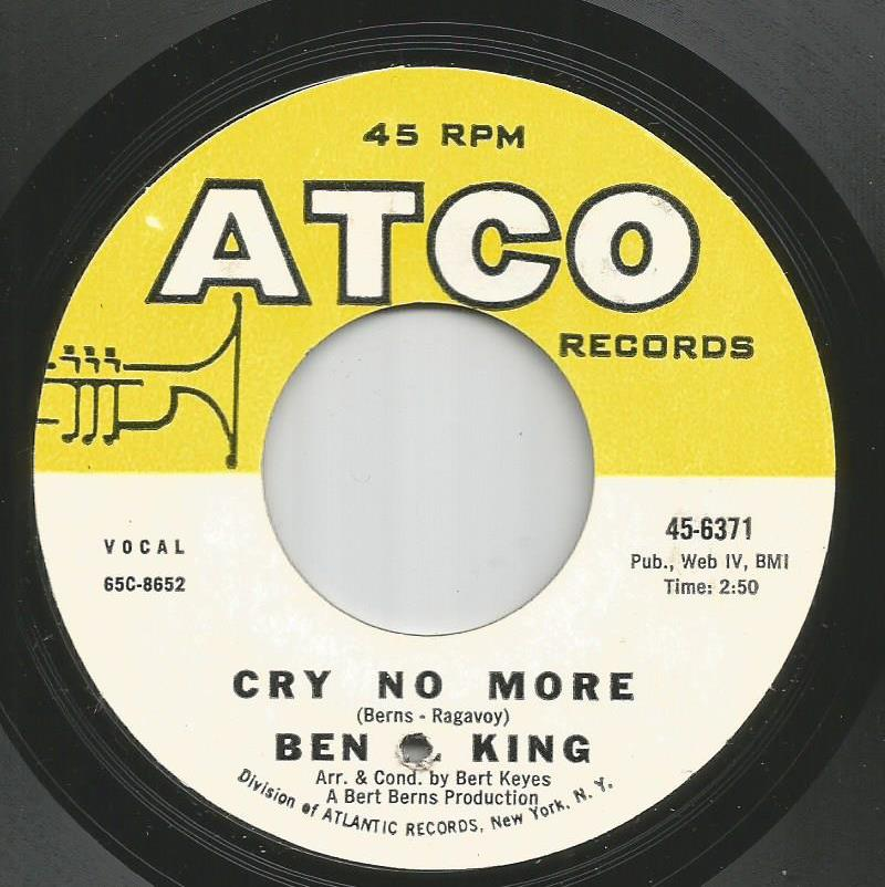 Ben E King - Cry No More / (There's) No Place To Hide