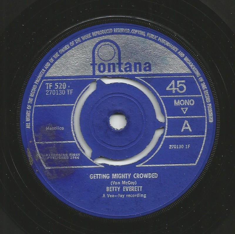 Betty Everett - Getting Mighty Crowded / Chained To A Memory