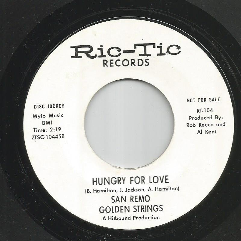 Sam Remo Golden Strings - Hungry For Love / All Turned On