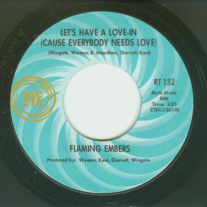 Flaming Embers - Let's Have A Love-In / Hey Mama