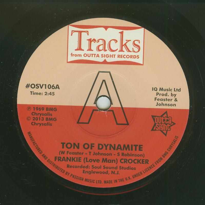 Frankie Crocker / Willie & Mighty Magnificents - Ton Of Dynamite / Funky 8 Corners Pt 2