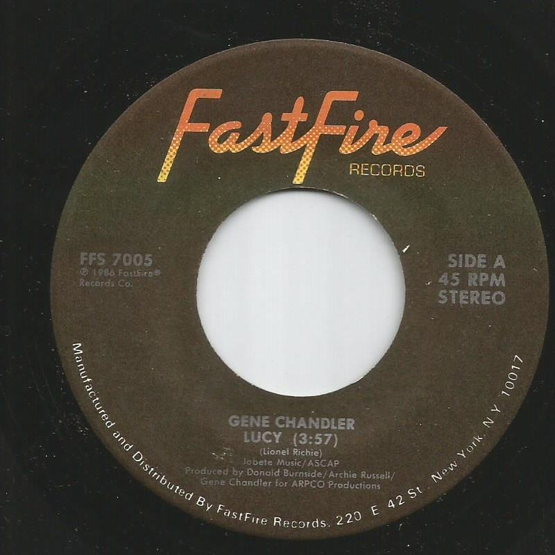 Gene Chandler - Lucy / Please You Tonight