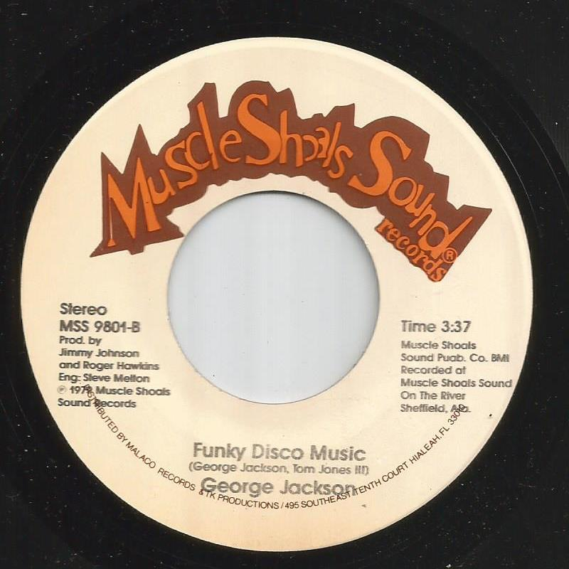 George Jackson - Funky Disco Music / Fast Young Lady