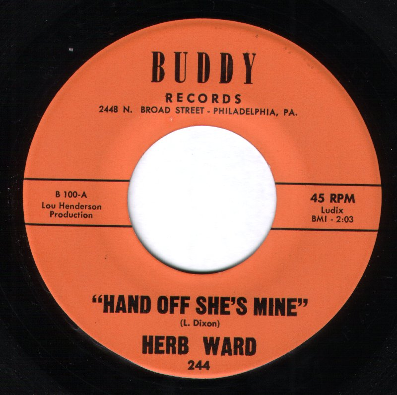 Herb Ward - Hands Off She's Mine / If I Pray