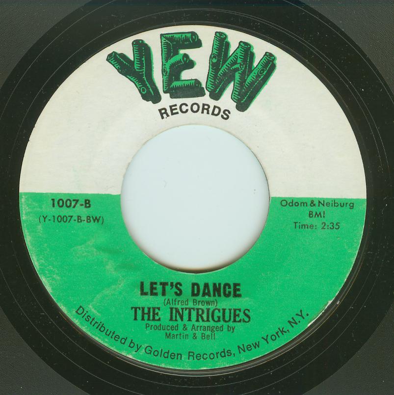 Intrigues - Let's Dance / Just A Little Bit More