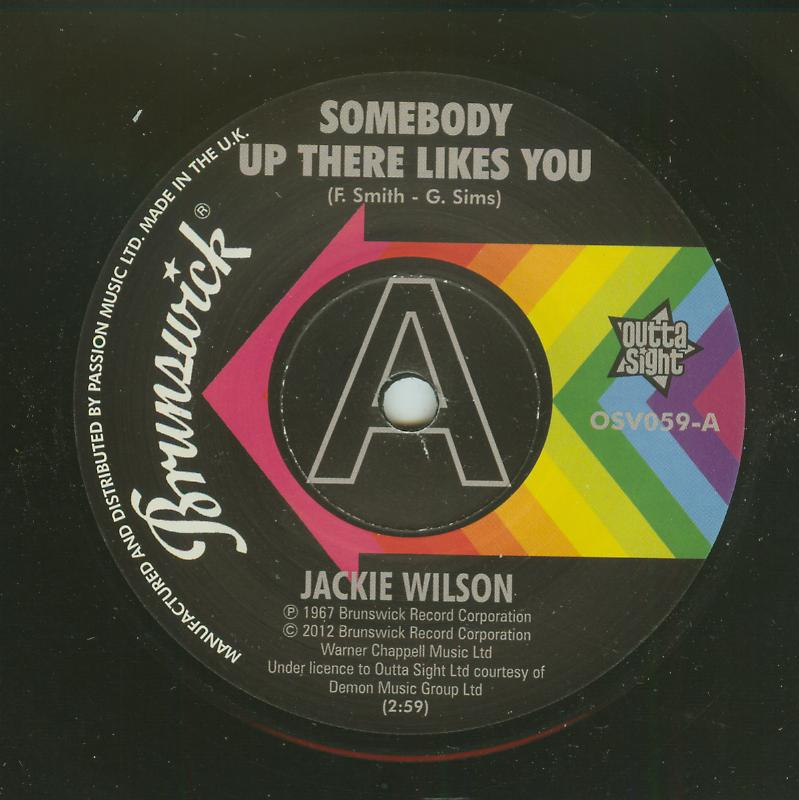Jackie Wilson - Somebody Up There Likes You / A Lovely Way To Die