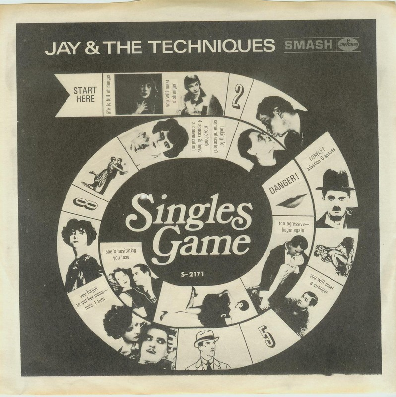 Jay & Techniques - Baby How Easy Your Heart Forgets Me / Singles Game