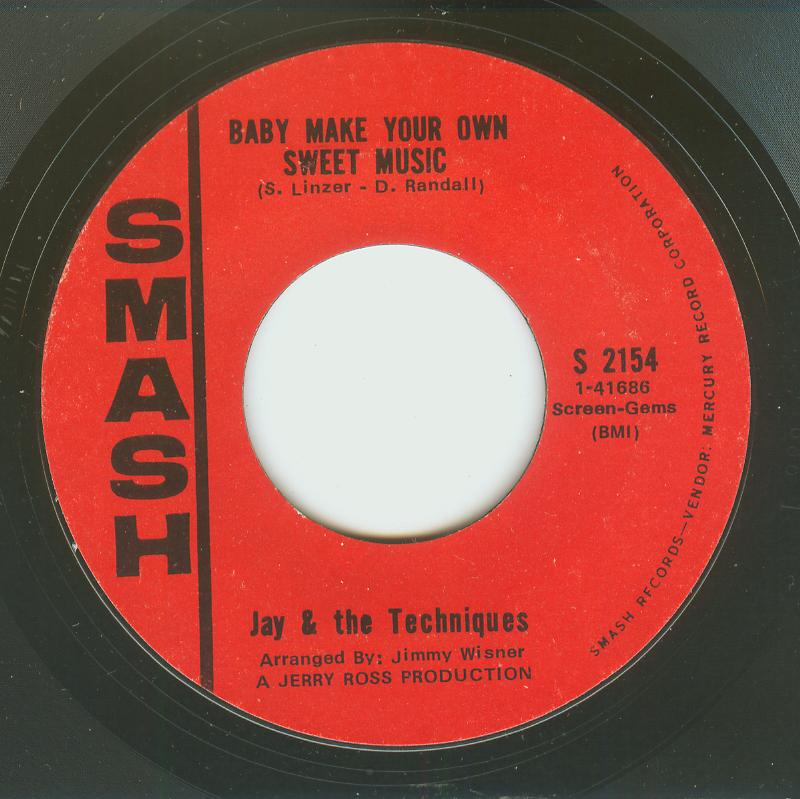 Jay & Techniques - Baby Make Your Own Sweet Music / Help Yourself To All My Lovin'