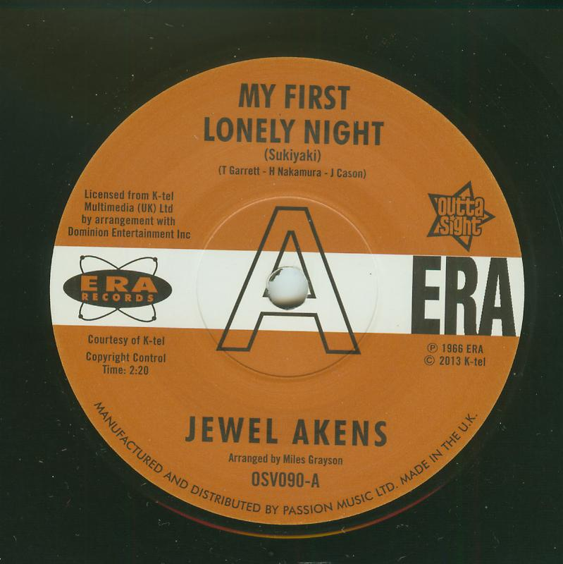 Jewel Akens - My First Lonely Night / A Slice Of The Pie