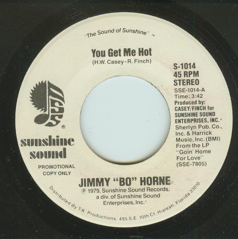 Jimmy Bo Horne - You Get Me Hot / You Get Me Hot