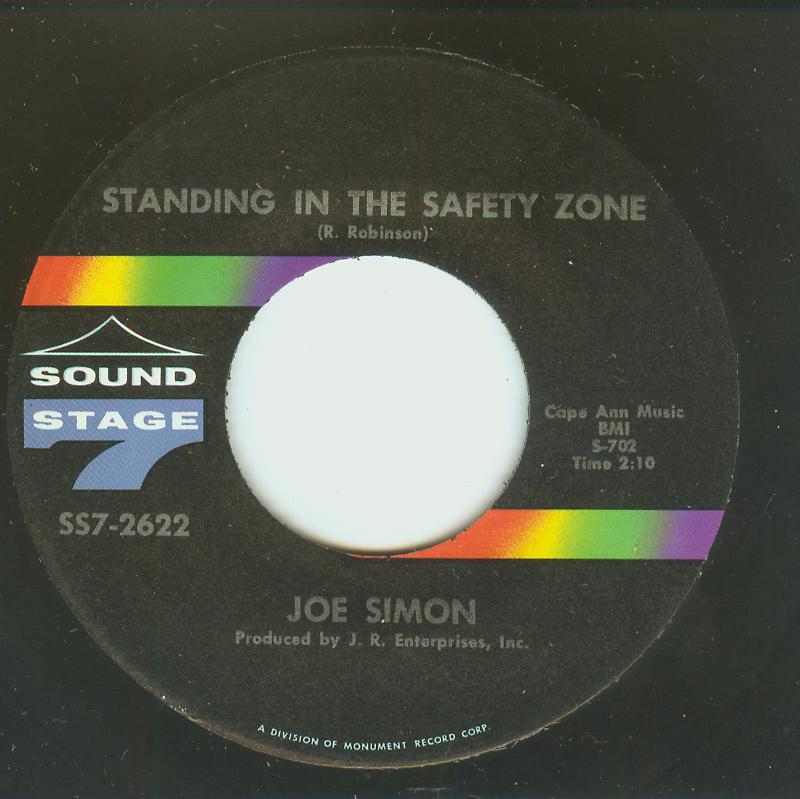 Joe Simon - Standing In The Safety Zone / Looking Back