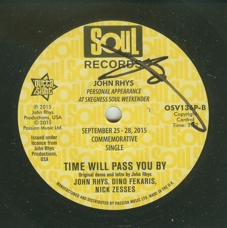Tobi Legend / John Rhys - Time Will PassYou By / Same