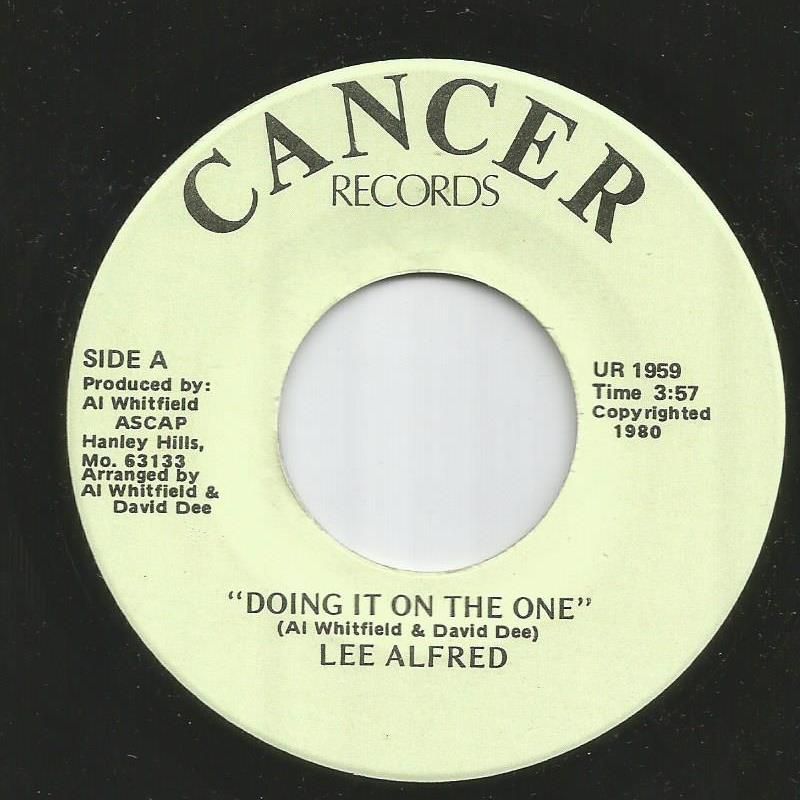 Lee Alfred - Doing It On The One / It's That Time Of Year Again