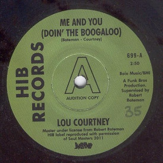 Lou Courtney - Me And You Doin' The Boogaloo / Webs - Give In