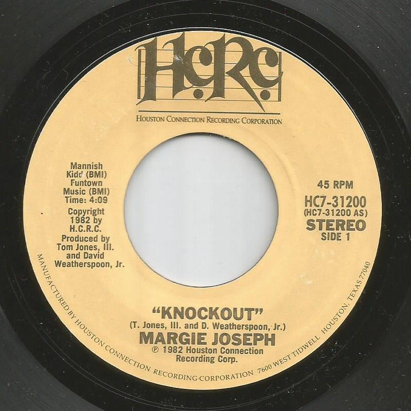 Margie Joseph - Knockout / Knockout (Part II)