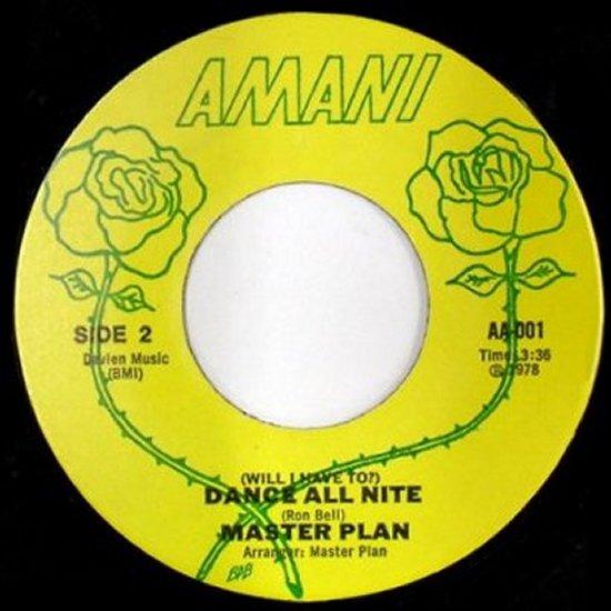 Master Plan - Dance All Nite / Music Man