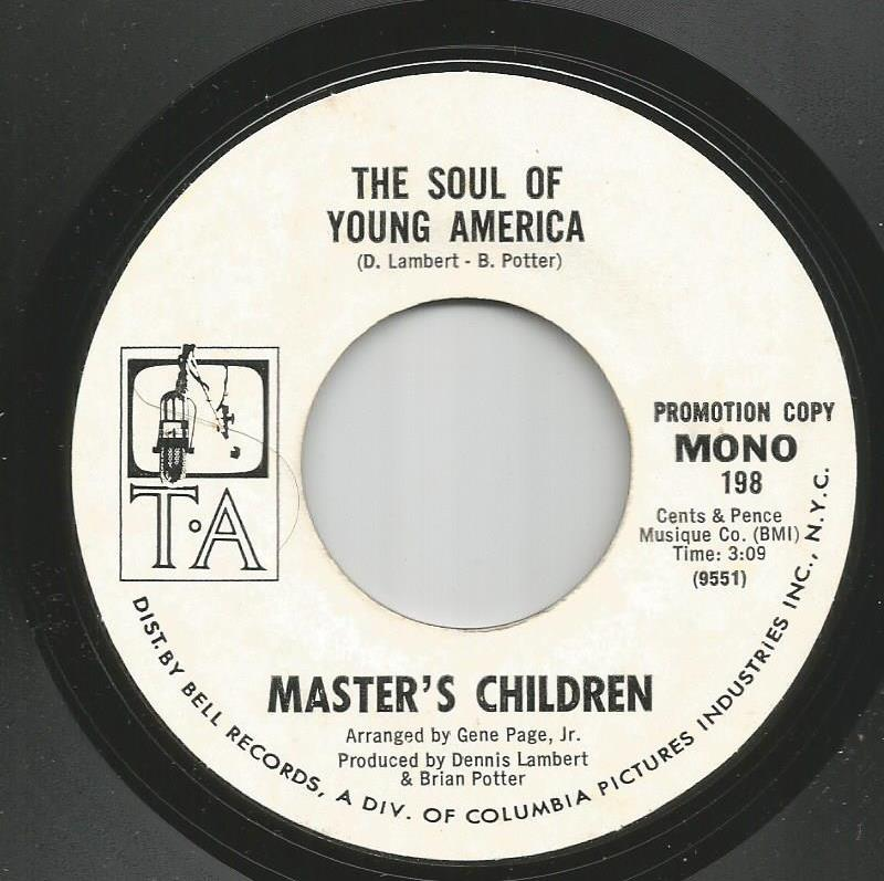Master's Children - The Soul Of Young America / Watch The Children / Give A Damn