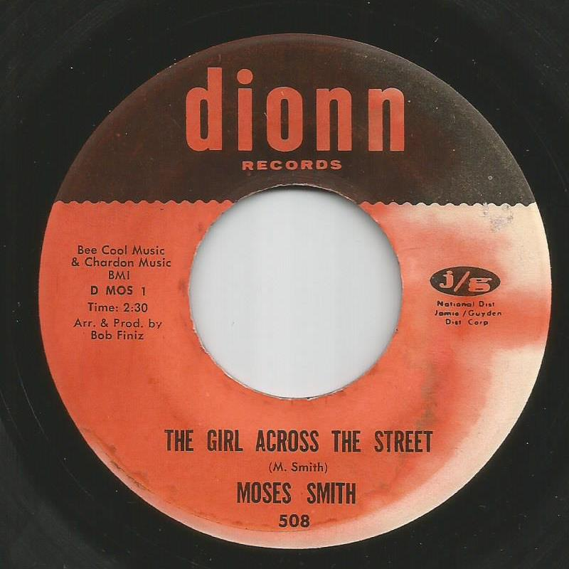 Moses Smith - The Girl Across The Street / Hey Love (I Wanna Thank You)