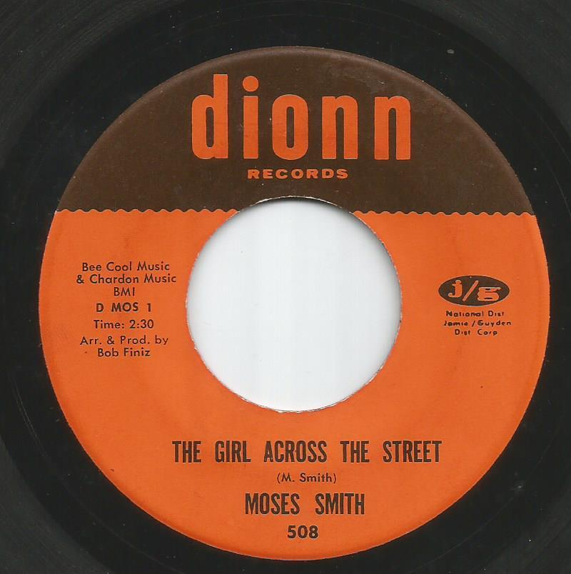 Moses Smith - The Girl Across The Street / Hey Love (I Wanna Thank You)