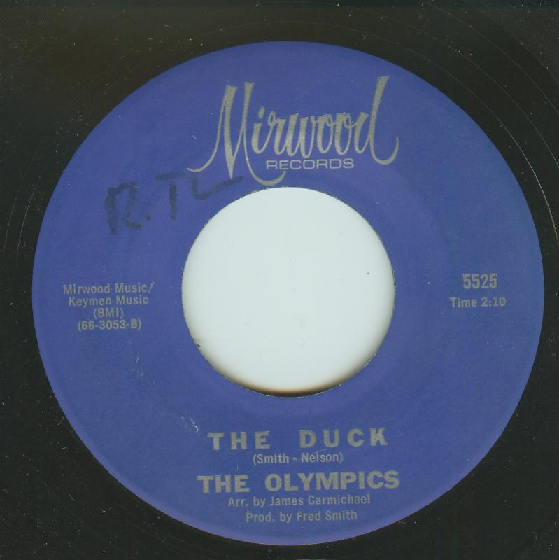 Olympics - The Duck / The Bounce