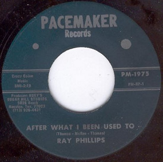 Ray Phillips - After What I Been Used To / Wish You Were Here