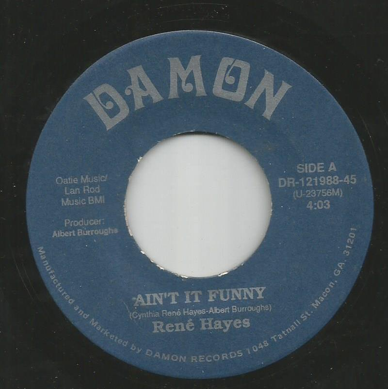 René Hayes - Ain't It Funny / You Are The Answer