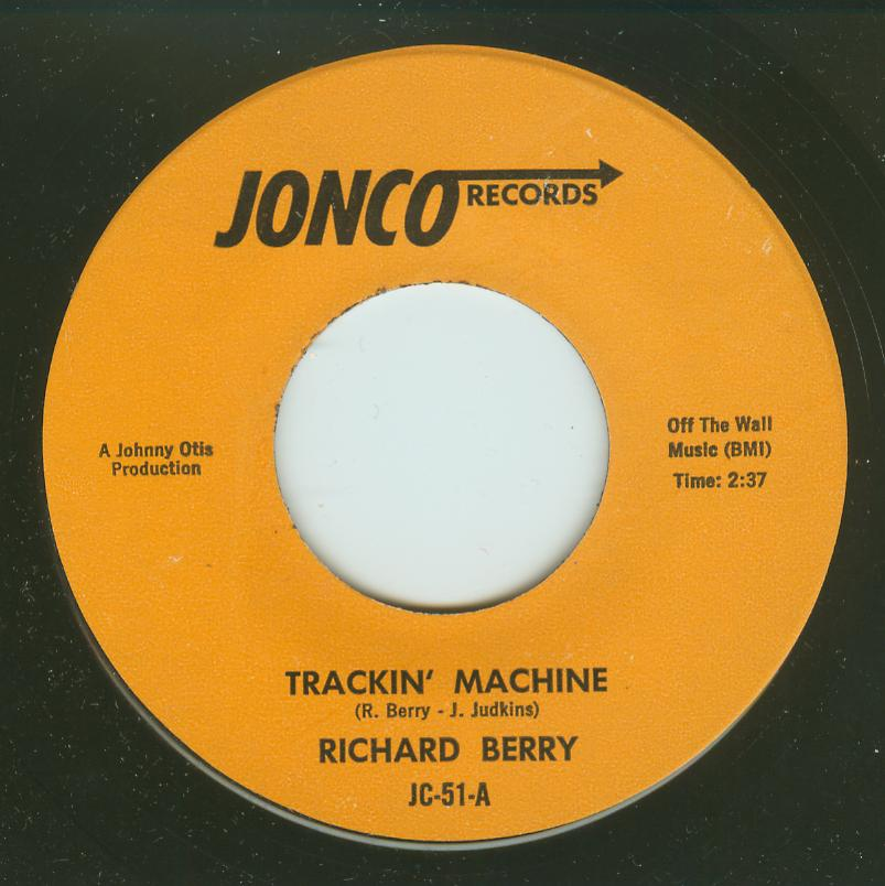 Richard Berry - Trackin' Machine / Doin' It