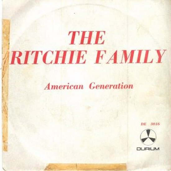 Ritchie Family - American Generation / Music Man