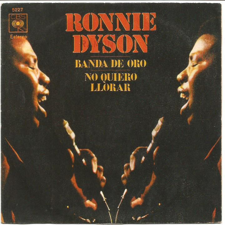 Ronnie Dyson - Band Of Gold / I Don't Wanna Cry